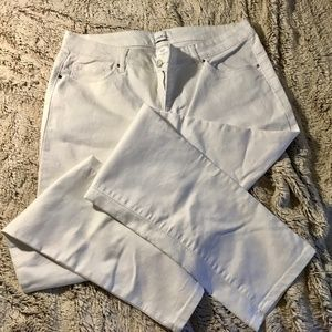 White Jeans Jaclyn Smith Collection Sz 12